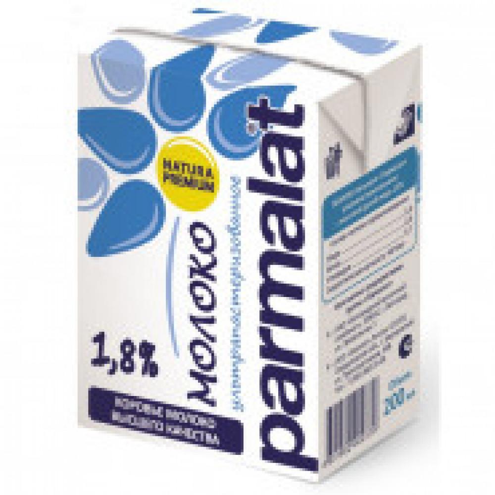 Молоко Parmalat ультрапастеризованное 1,8% 0,2 л 27 шт/уп