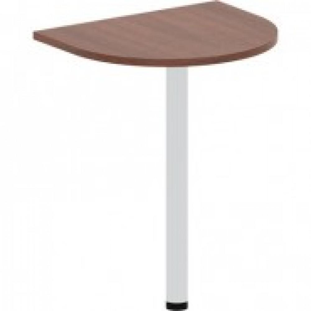 Мебель IN Рондо Стол окончание 1 опор СО5н1 (2) 66 орех 600