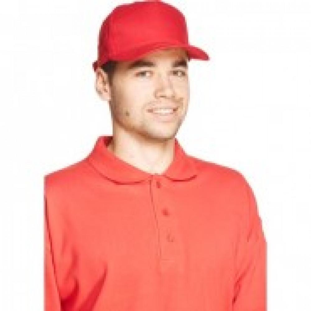 Бейсболка Комфорт красная