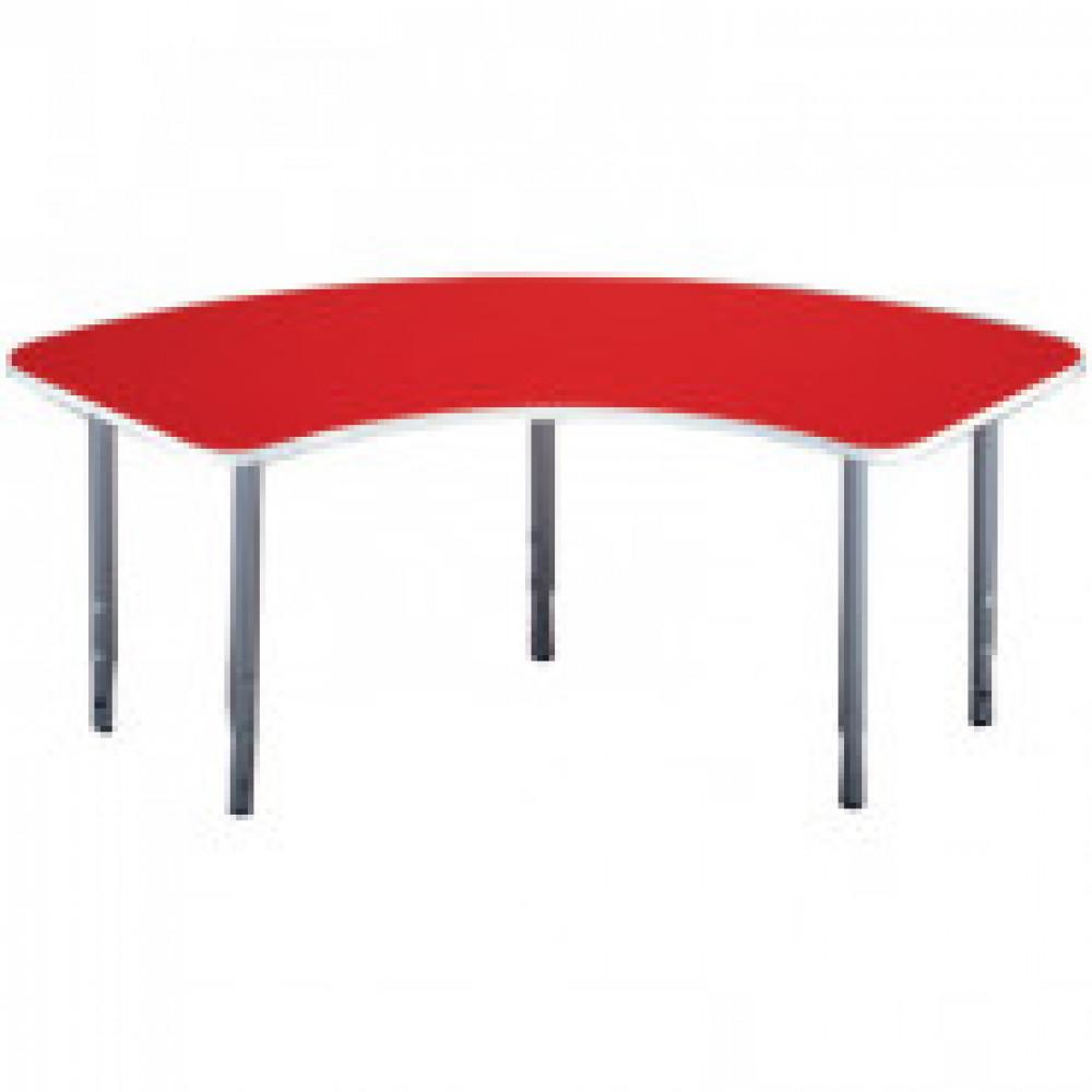 Детская мебель Д_Стол дуга 005.326 Рост 0-3 красный