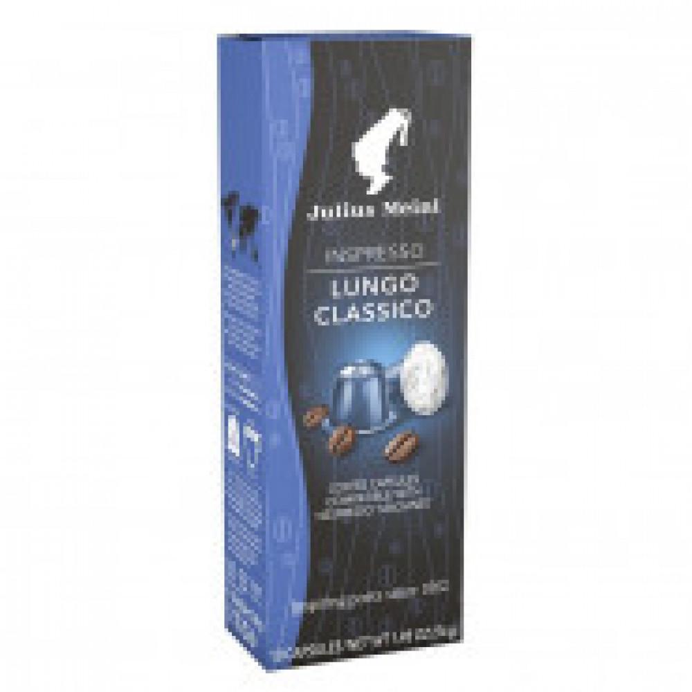Капсулы для кофемашин Julius Meinl Lungo Classico, 10 кап.