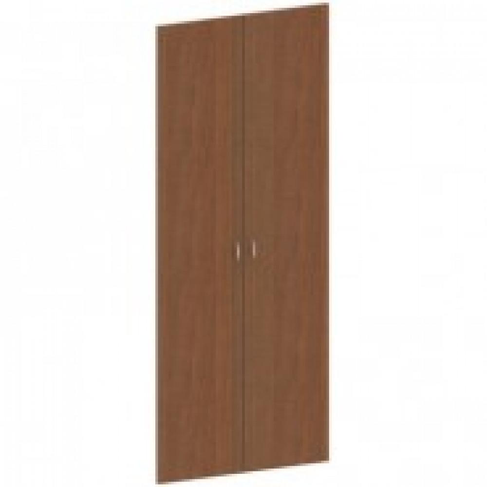 Двери высокие Этюд (комплект, орех)