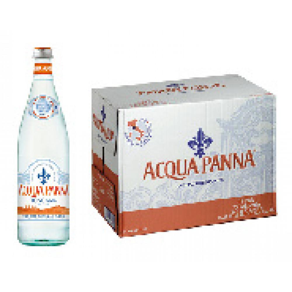 Вода минеральная Acqua Panna негазированная 0.75 л (15 штук в упаковке)