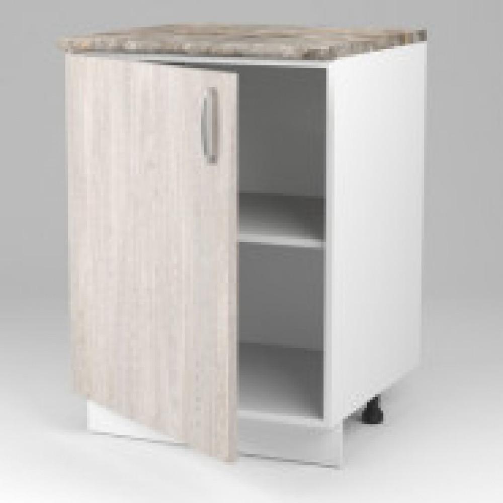 Кухня SP_Модульная Шкаф  напольный 60см с 1 дверью 906975 Ясень Анкор 528