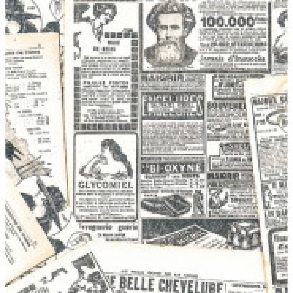 Бумага упаковочная Газета 10 листов в рулоне, 70 х 100 см, 90 10-05-0048
