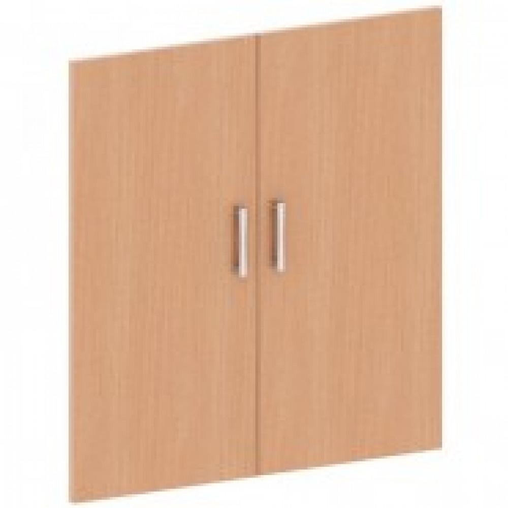 Двери низкие Монолит (ЛДСП, высота 785 мм, 2 штуки, бук бавария)