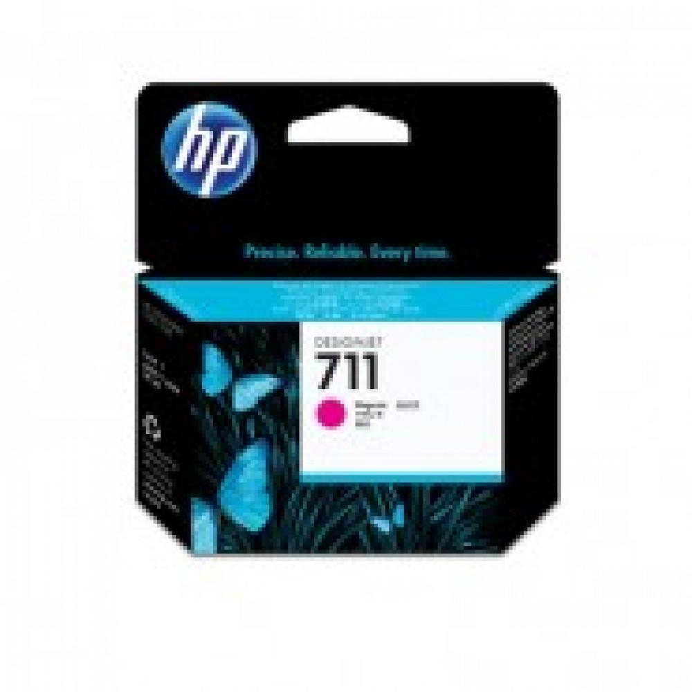 Картридж струйный HP 711 CZ131A пурп. для DgnJ T120/520