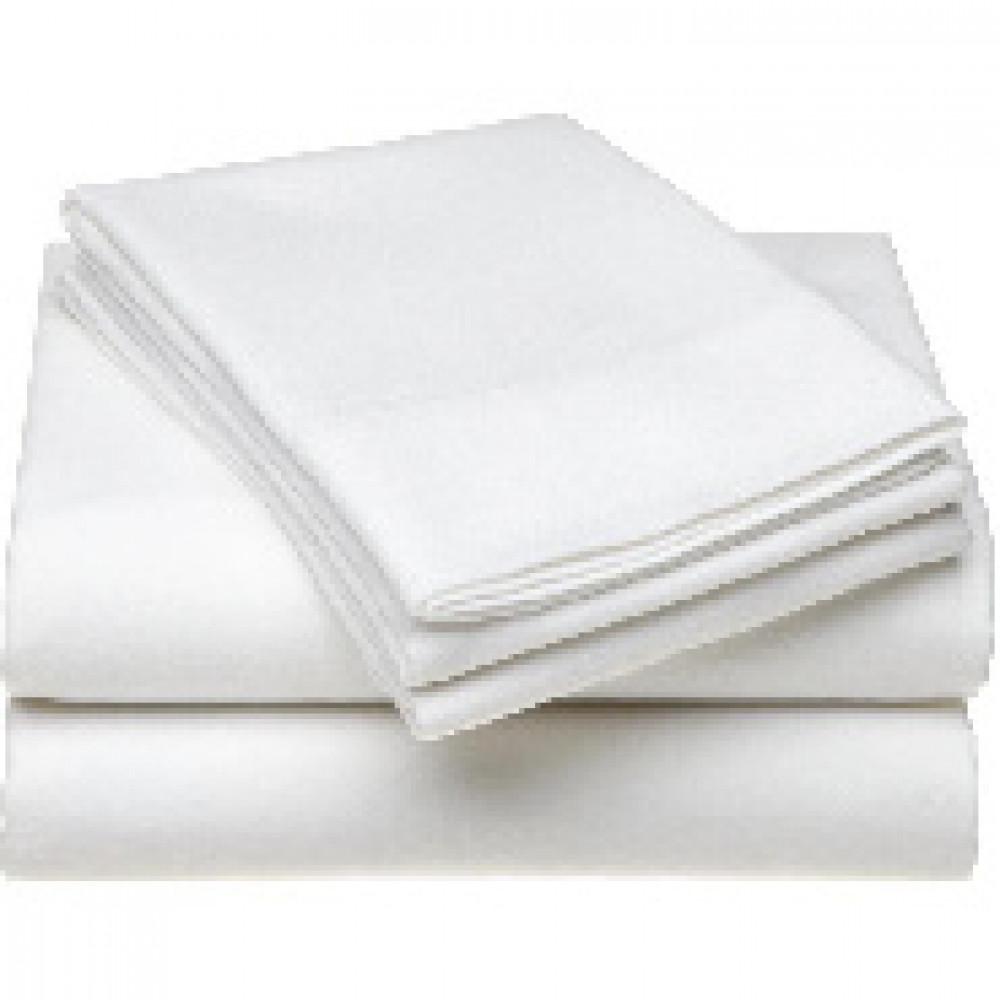 Комплект постельного белья 1,5сп 125гр/м бязь, отбелен.