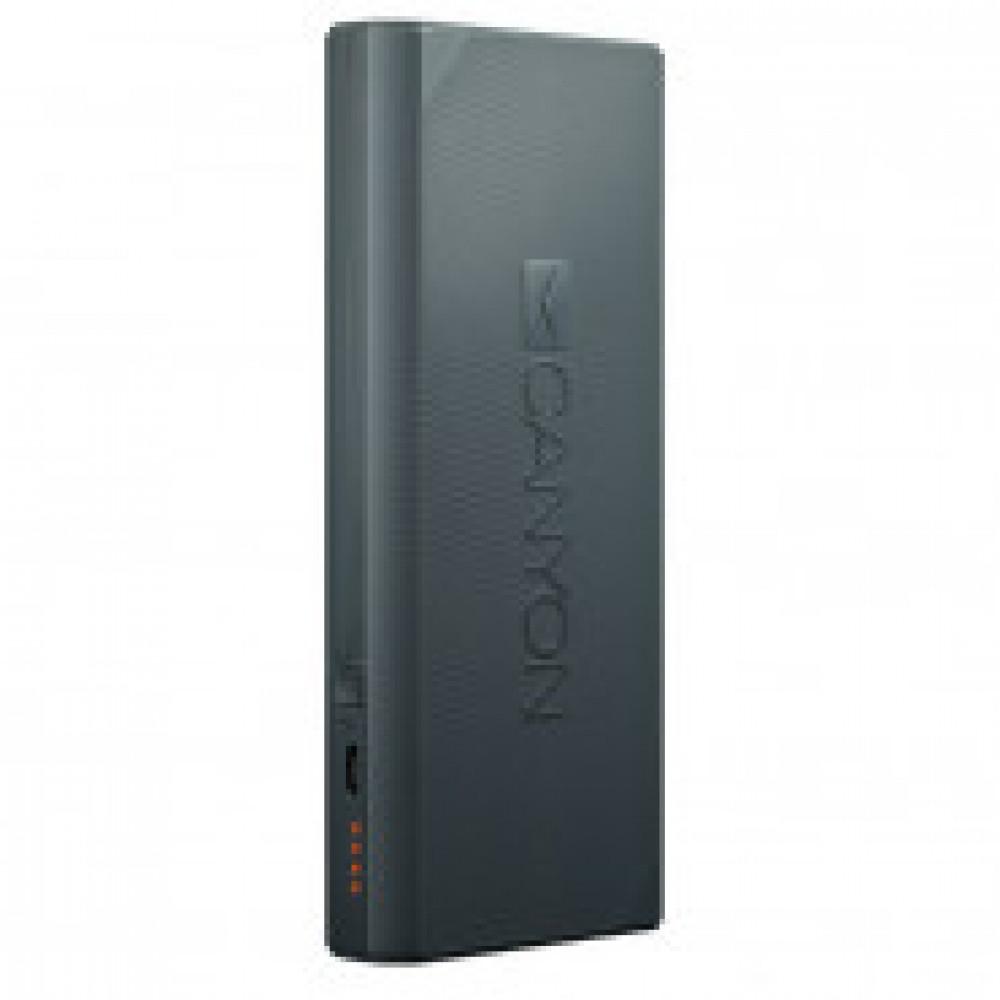 Внешний аккумулятор 10000 mAh, Li-Ion, 2xUSB, SmartIC, Canyon,CNE-CPBF100DG