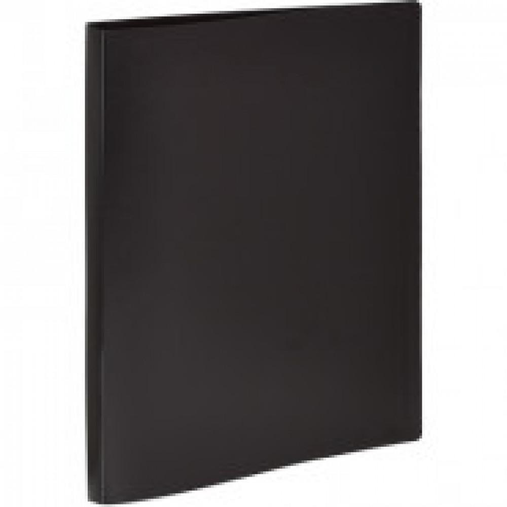 Папка на 2-х кольцах Attache Economy 25 мм черная до 150 листов (пластик 0.4 мм)