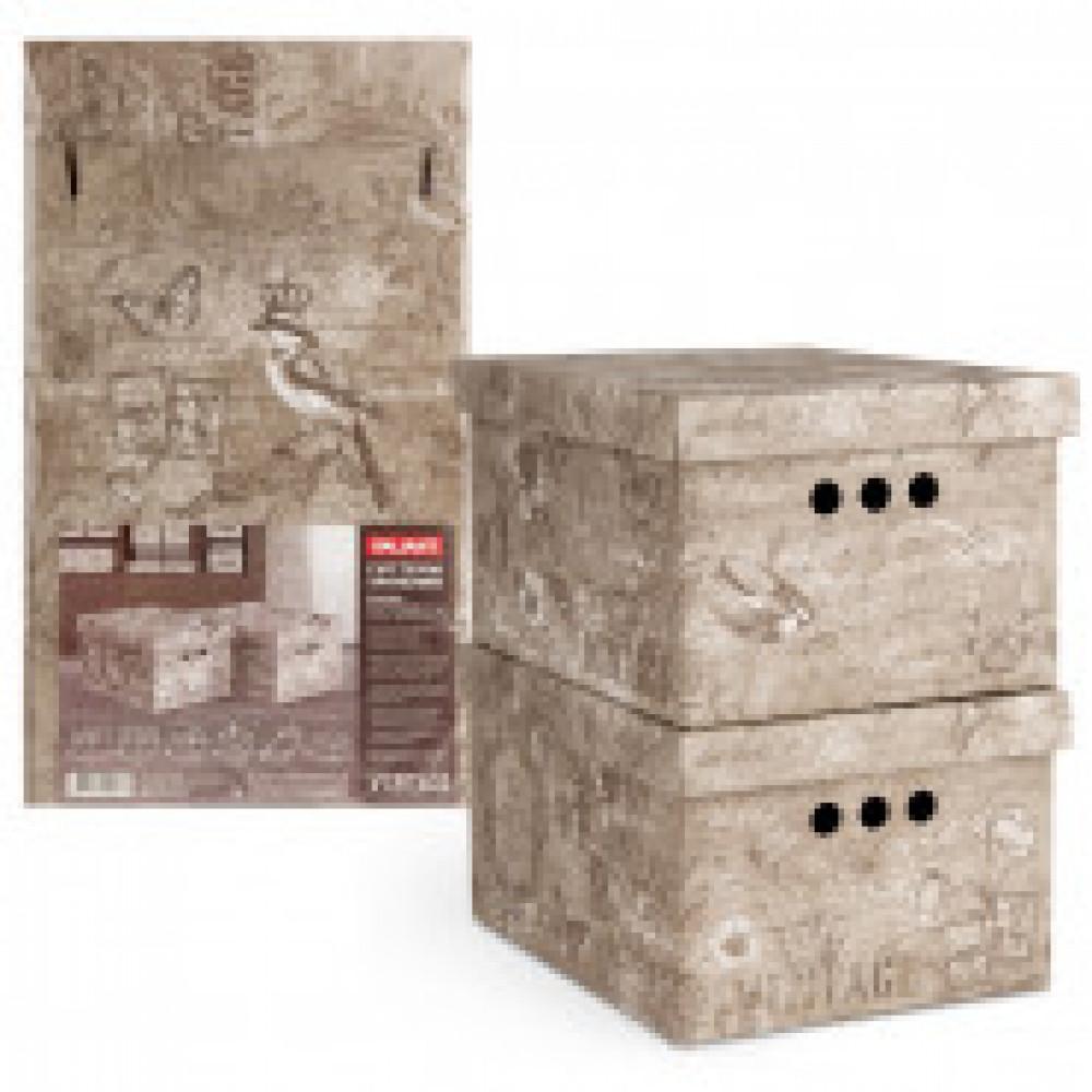 Мебель для дома VAL VINTAGE Короб картонный,скл,мал,набор2шт,VN-BCTN-2S