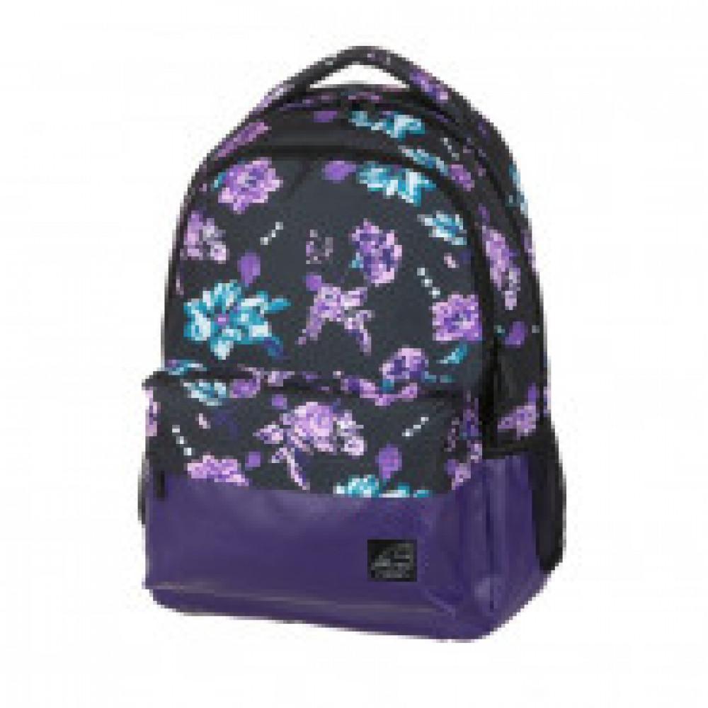 Рюкзак Walker Chap Classic Flower Violet, 32x45x23 см, 42262/167
