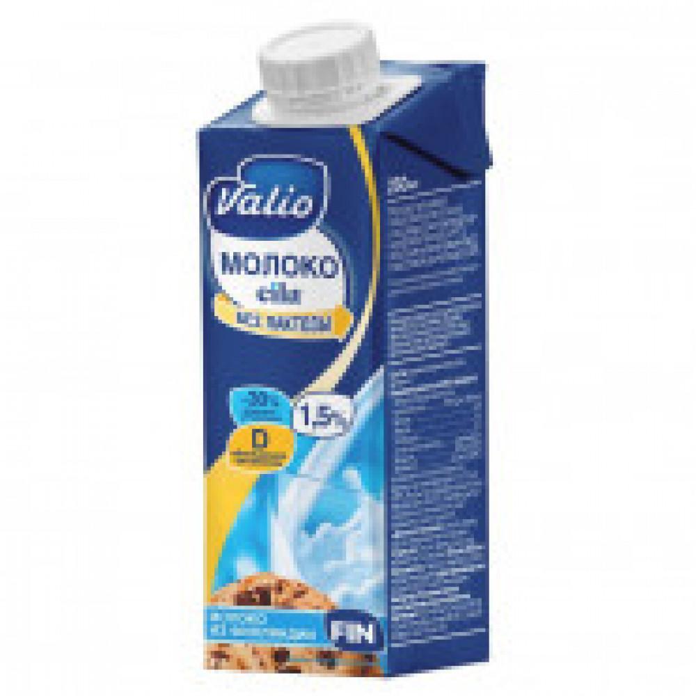 Молоко питьевое Valio Eila безлактозное c вит D 1,5%, 250мл