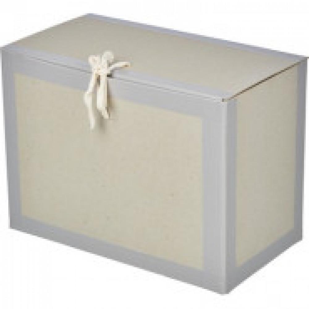 Архивный короб вертикальный 180x240x330, бумвинил