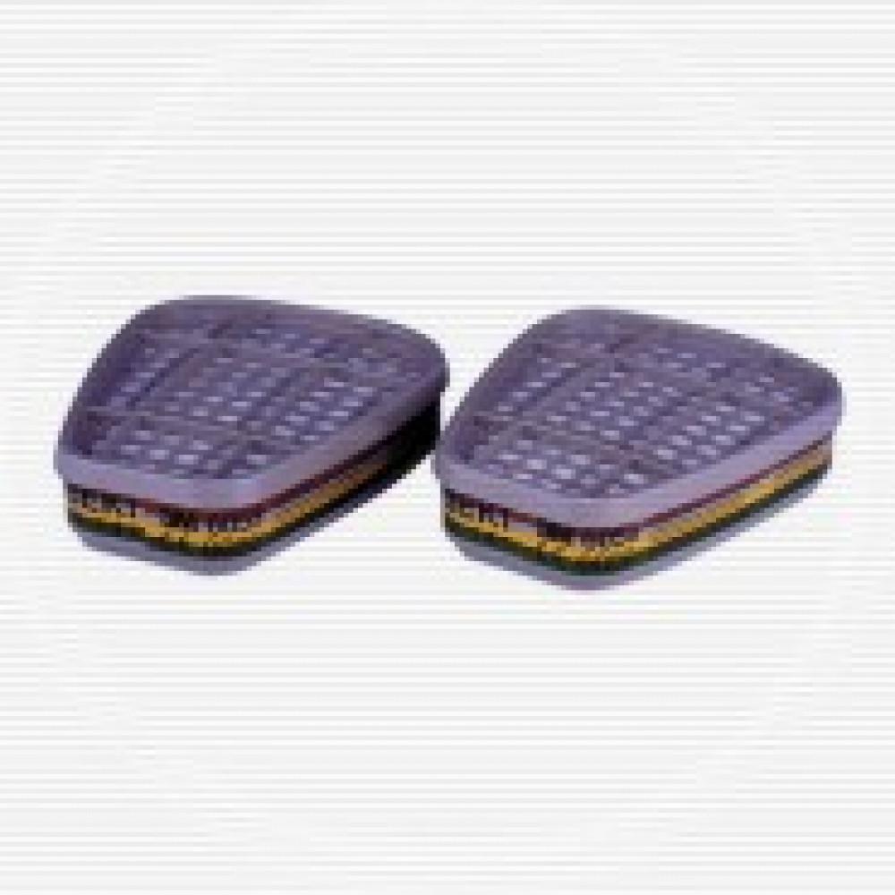 Патрон противогазовый 3М 6059 АВЕК1 орган неорган кислые газы аммиак (6059)