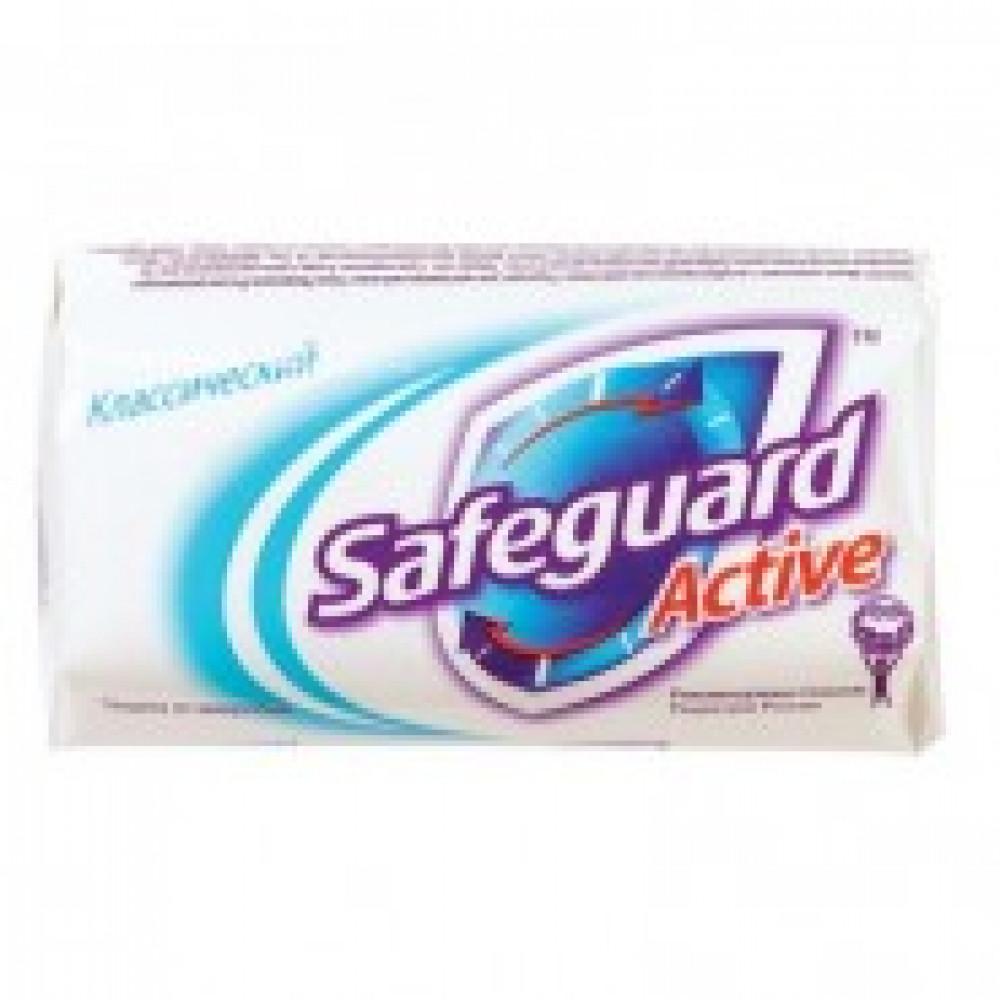 Мыло туалетное SAFEGUARD Классическое 90г антибактериальное белое