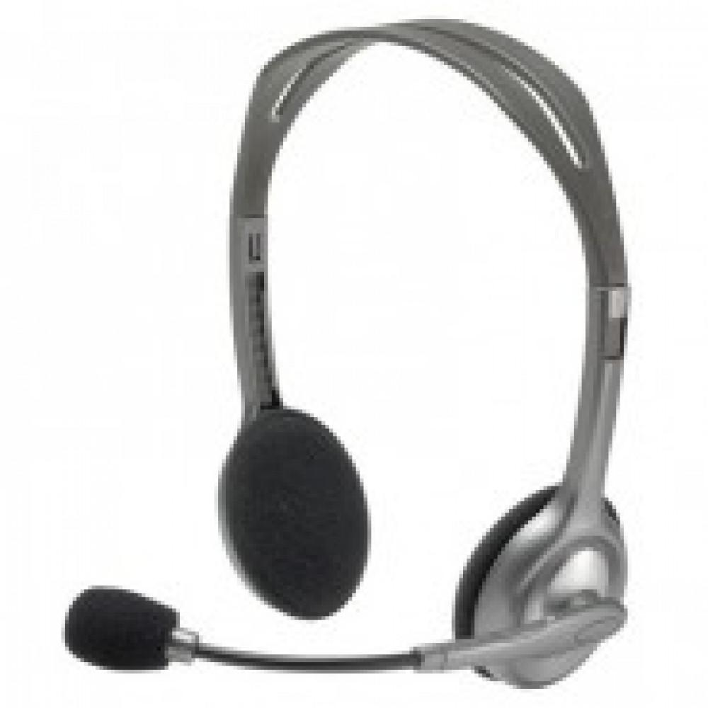 Гарнитура Logitech Stereo Headset H110 (981-000271) 2xmini jack