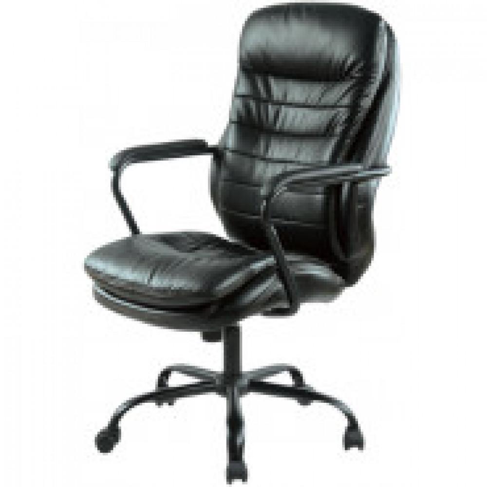 Кресло BN_Dp_EChair-559 TPU кожзам черный, металл черный