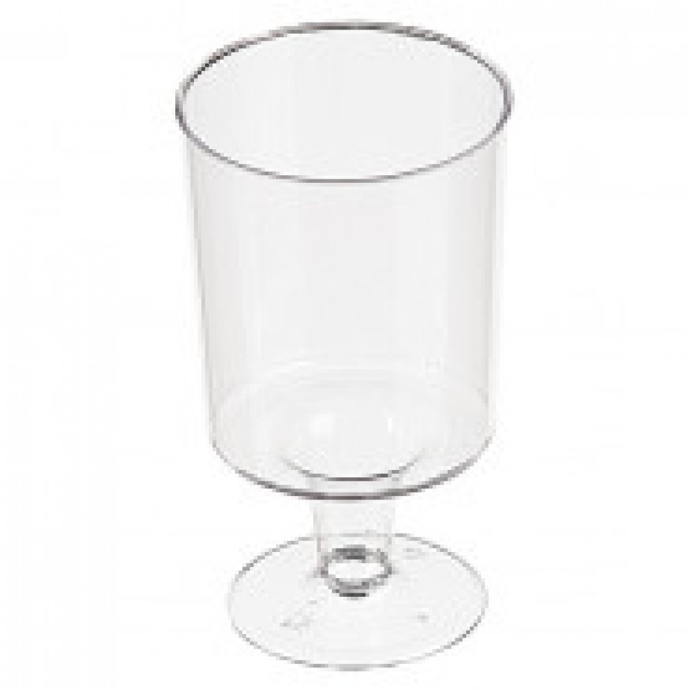 Бокал одноразовый для вина 170 мл., прозрачный, ПС, 6шт./уп. Россия