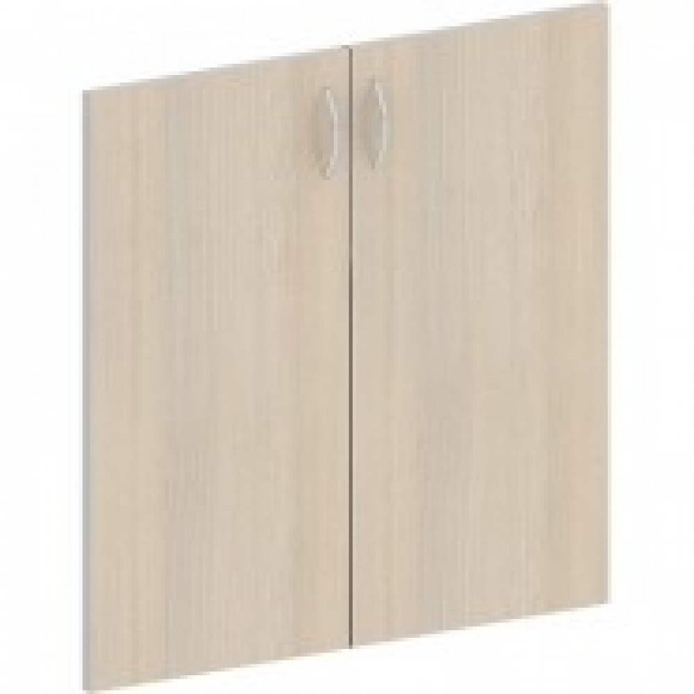 Мебель Easy St Двери низк. ЛДСП (2шт.) 904007 св.дуб/сер.(430)
