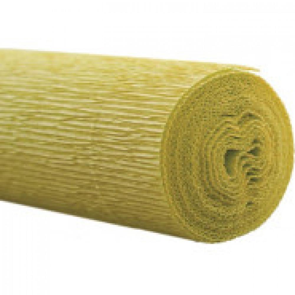 Бумага для творчества крепир.флорист.50x250см,128г/м2,светло-зеленая,170517
