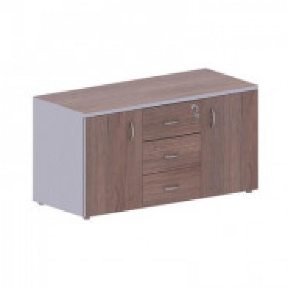 Мебель Easy T Тумба серв.(571,572) т.дуб(560)