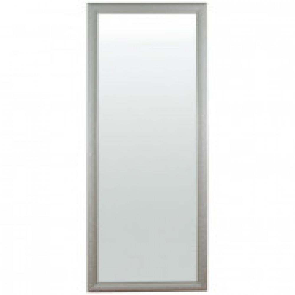 Зеркало настенное гипсовая печать белое (700x1700 мм)
