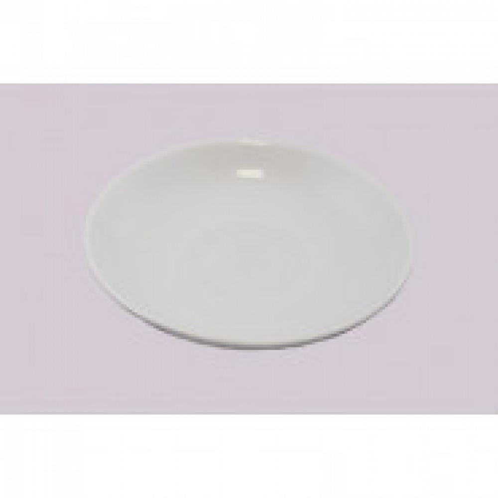 Блюдце Добруш фарфоровое белое 150 мм (артикул производителя 3С0505Ф34)