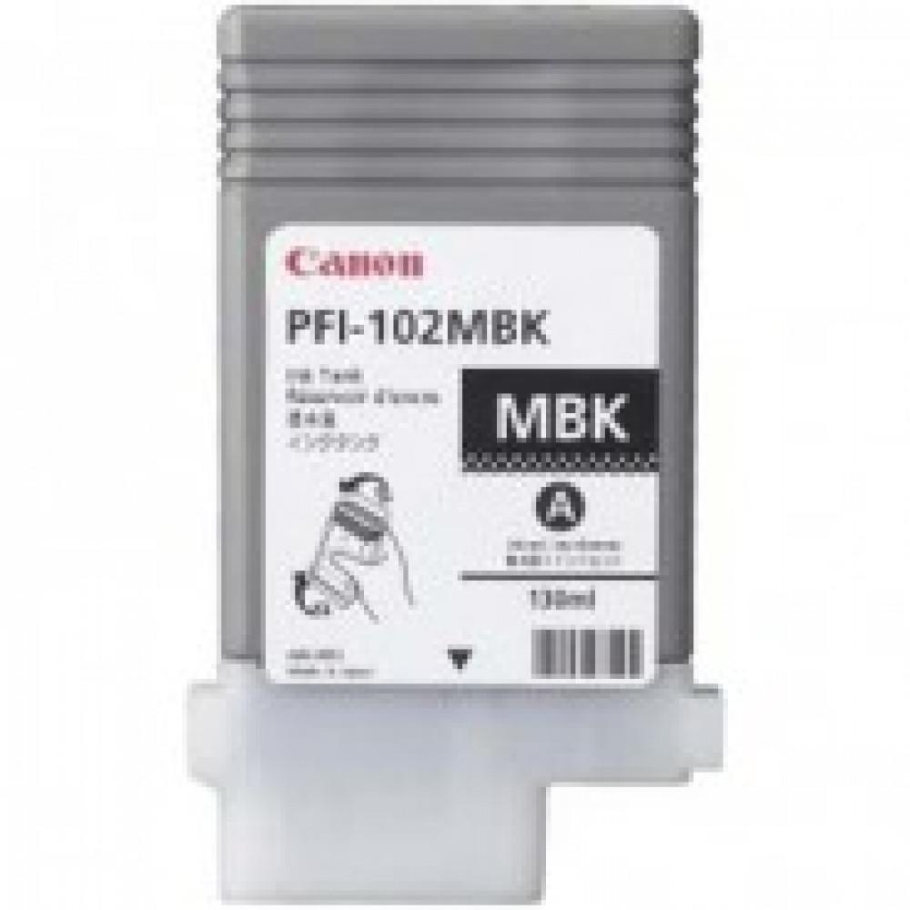 Картридж струйный Canon PFI-102МBK 0894B001 матовый черный оригинальный