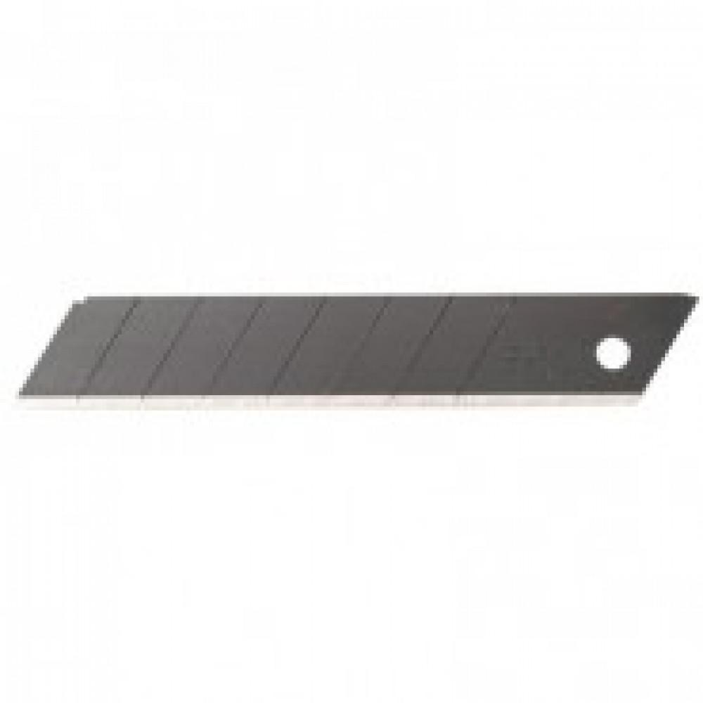 Лезвие запасное для ножей OLFA BLACK MAX (LBB-XOB) 18мм, 10шт./уп.футляр