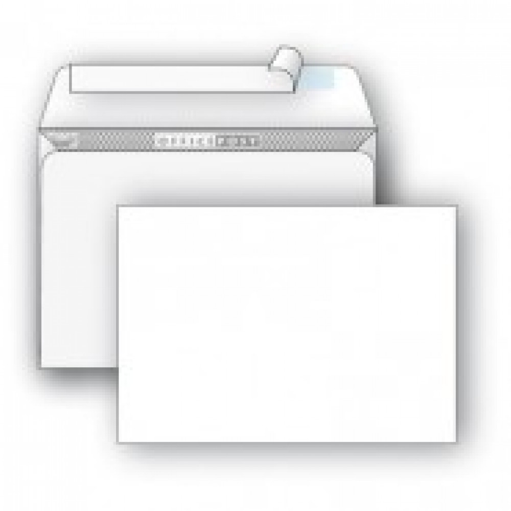 Конверты Белый E65 стрип OfficePost 110х220 1000шт/кор 1781