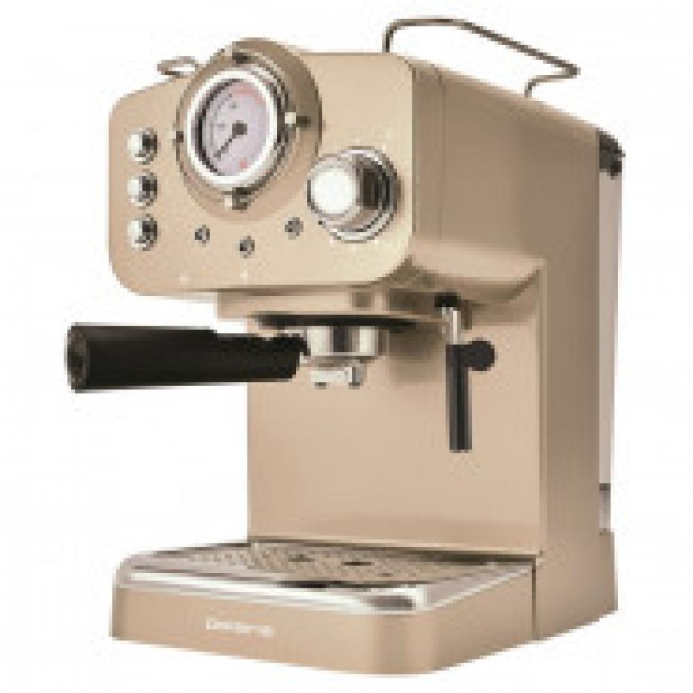 Кофеварка Polaris PCM 1532, 1100 Вт, рожковая, давление 15 бар