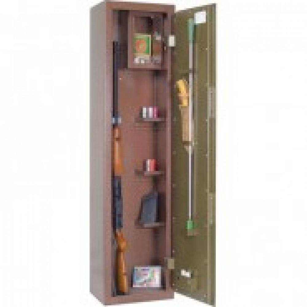 Сейф Мн ОШ-2 шкаф оруж., 2 ствола, ключ.замок