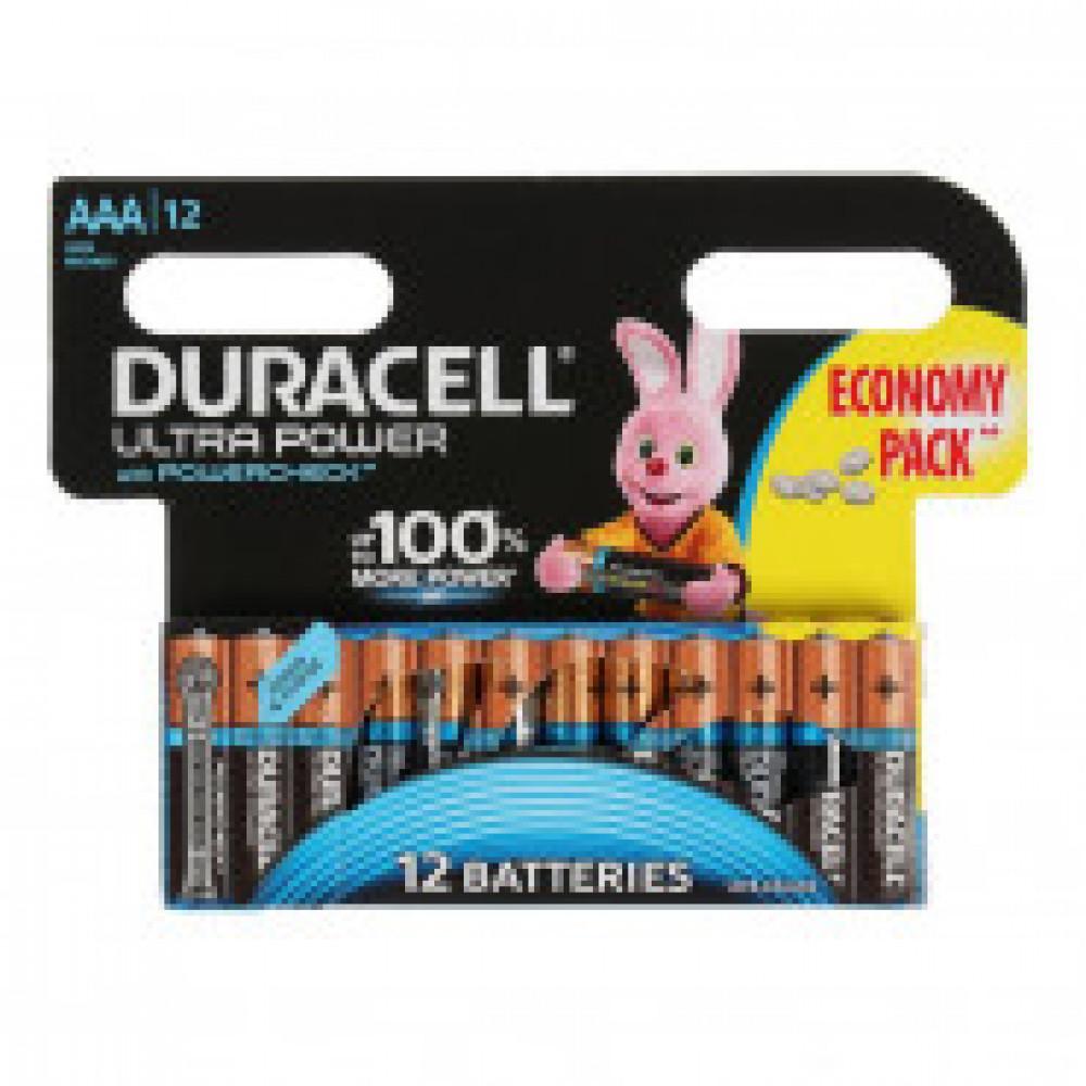 Батарейка DURACELL UltraPower AAA LR03-12BL, 12шт/бл