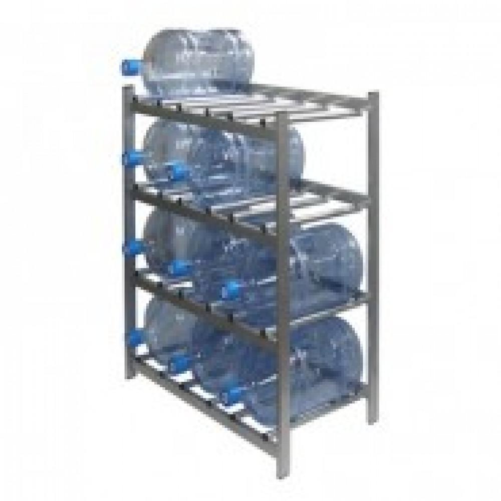 Метал.Мебель KD_Бомис-12 стеллаж для воды бутилир. на 12 тар