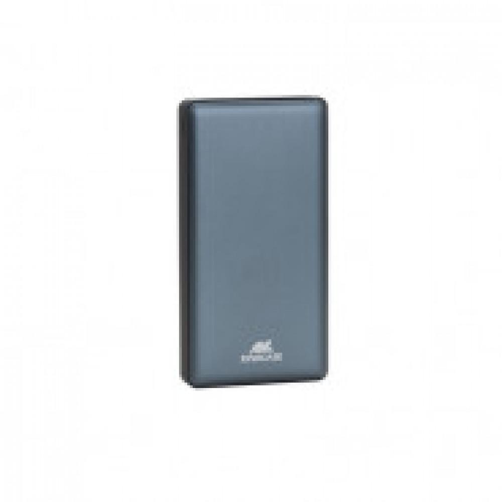 Внешний аккумулятор 15000 mAh, Li-Pol, 2xUSB, 2.4A+2.4A, Rivapower,VA1215