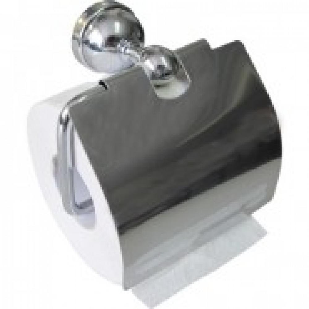 Держатель для туалетной бумаги металлич.хромирован.3086