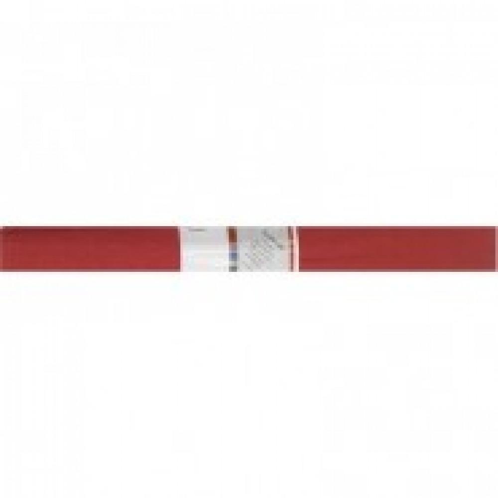 Бумага гофрированная Werola темно-красная 50x250 см