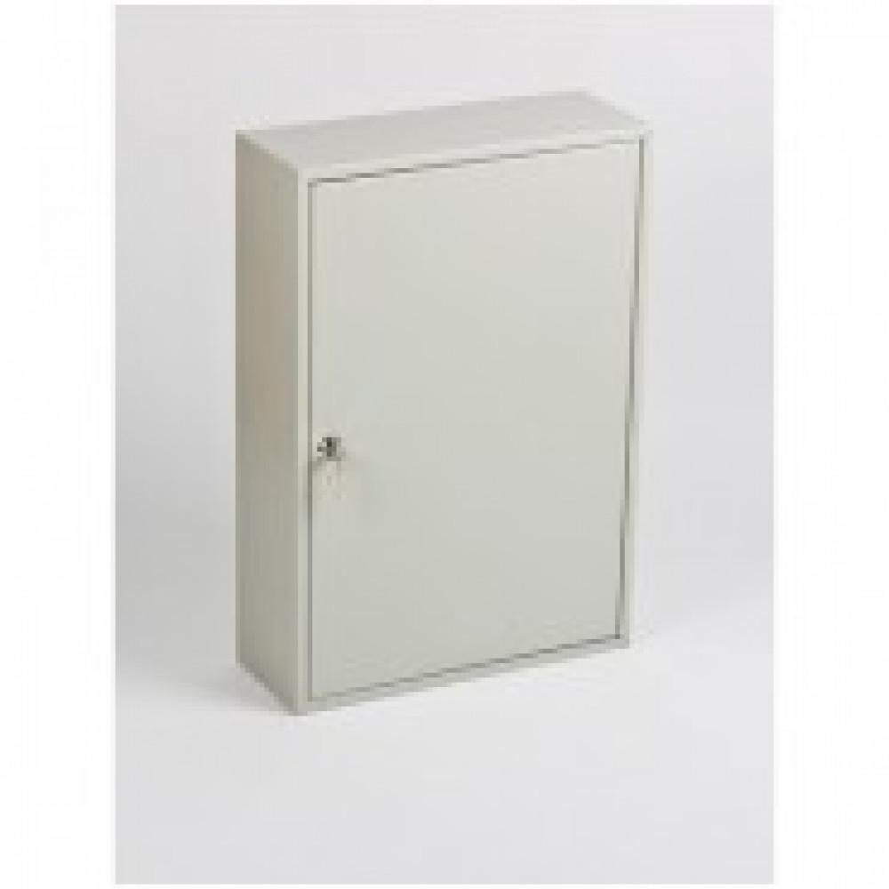 Метал.Мебель Office-Force Шкаф для 150 ключ.20087,сер380х140х550