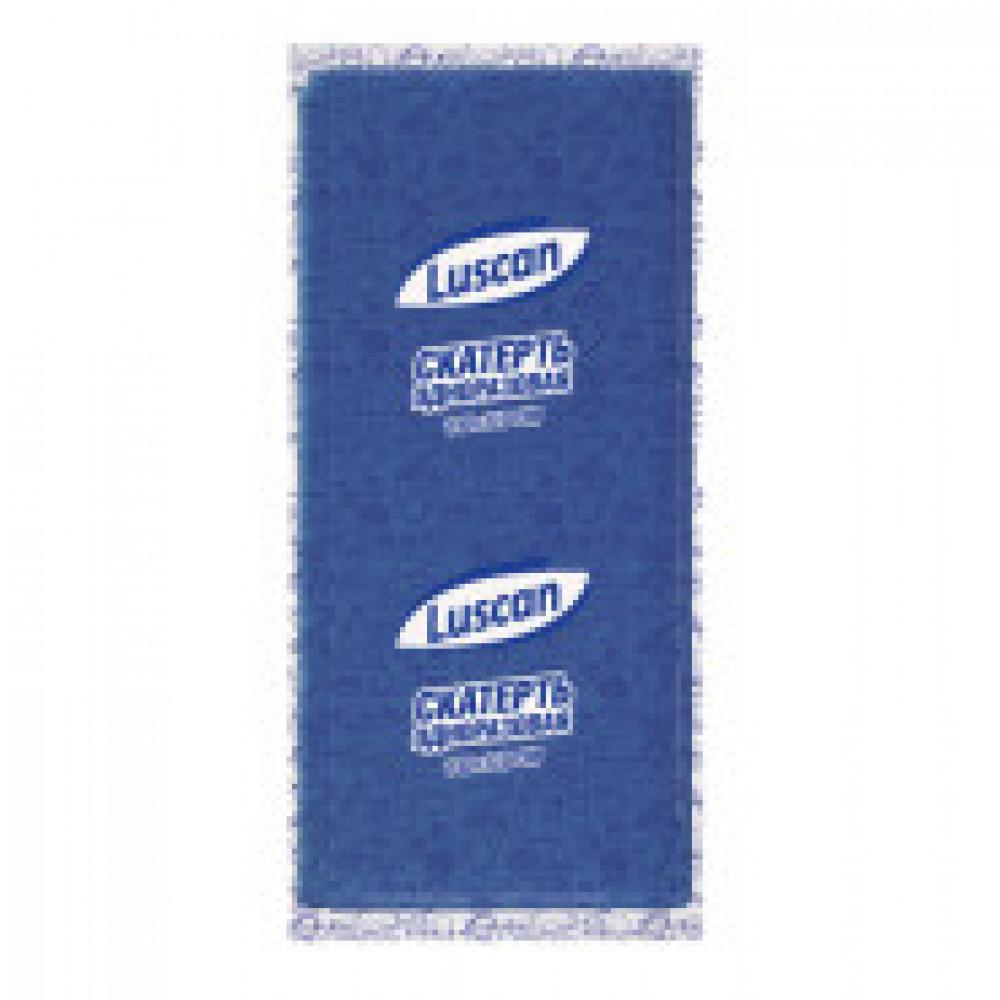 Скатерть одноразовая Luscan, 110х140см, синяя