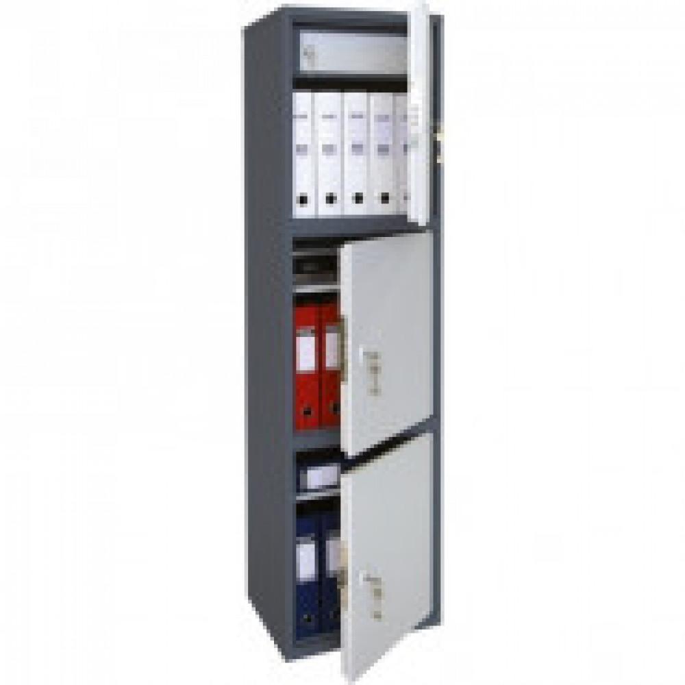 Метал.Мебель AIKO SL-150/3T шкаф д/бумаг 3 отд., 460х340х1490