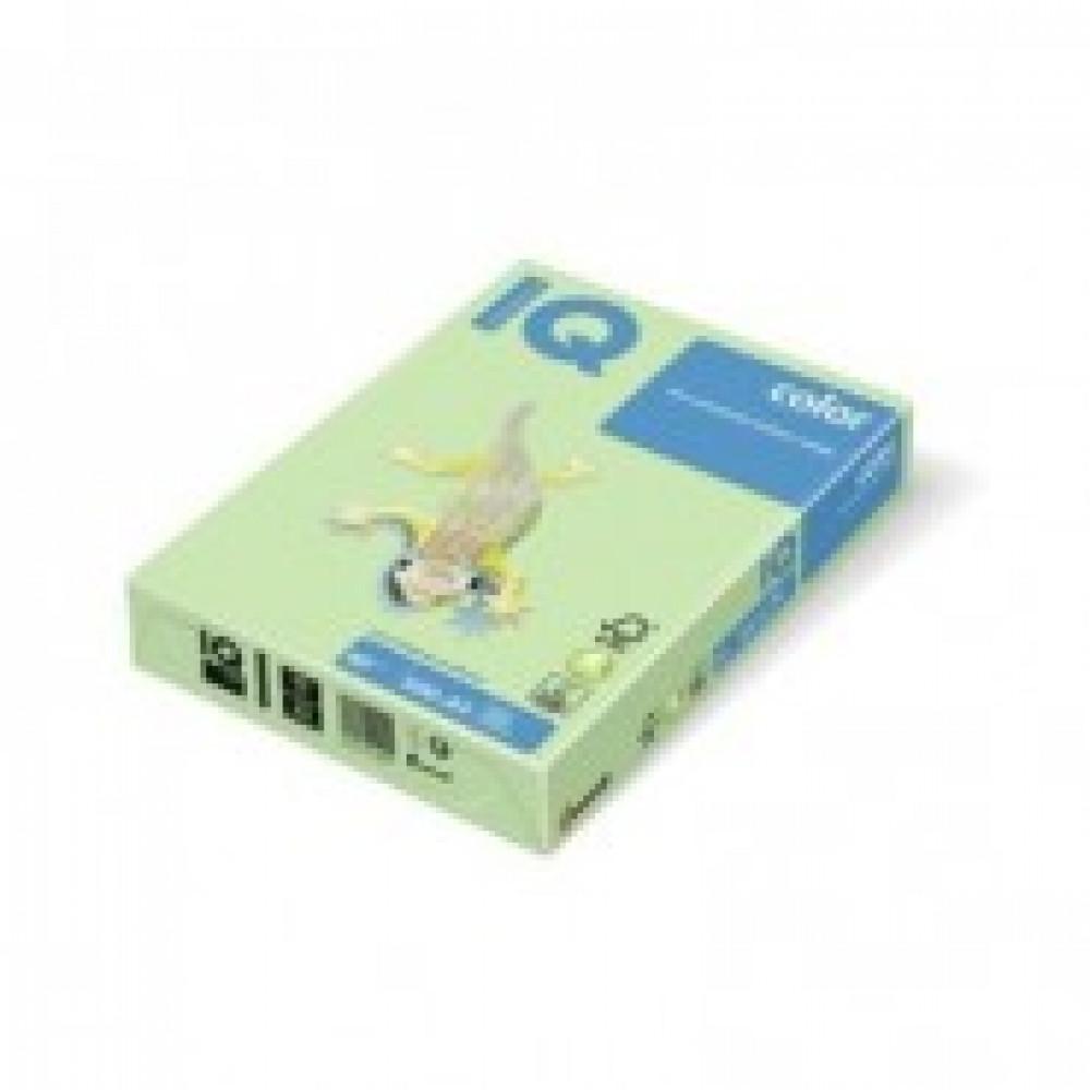 Бумага цветная IQ COLOR (А3,80г,GN27-светло-зеленый) пачка 500л.