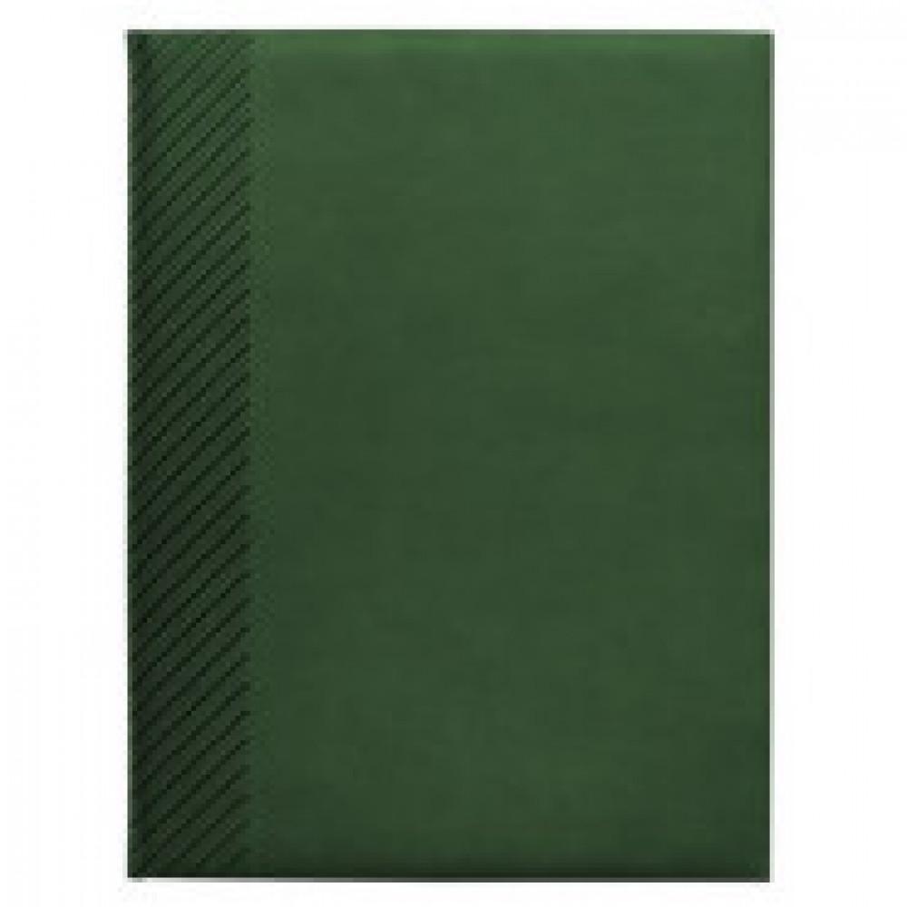 Ежедневник датированный 2019, зеленый, А5, 176л., Velure AZ703/green