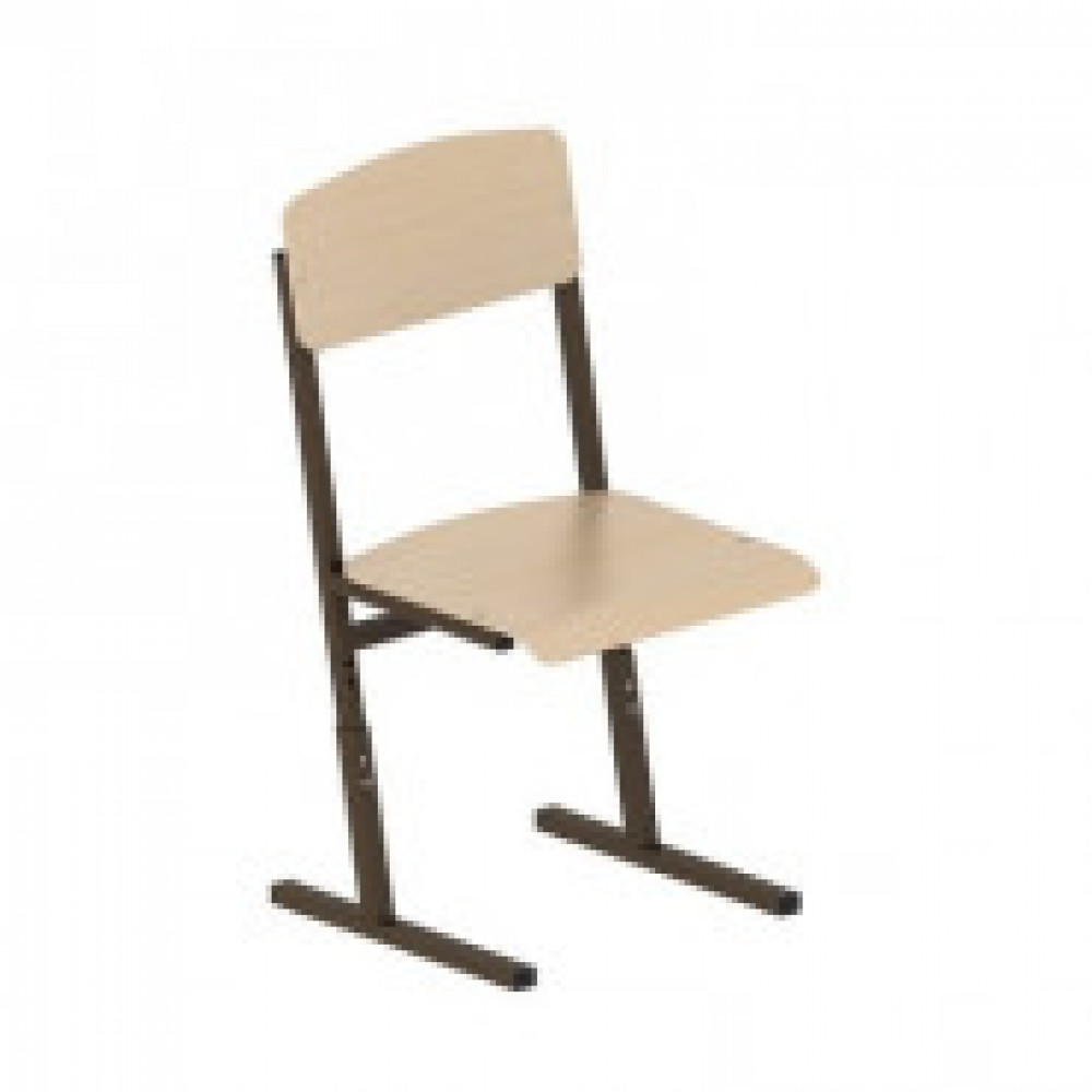 Мебель для школы AT_Easy school_ П/уг.тр. Стул гр.4-6 корич/л.фанера