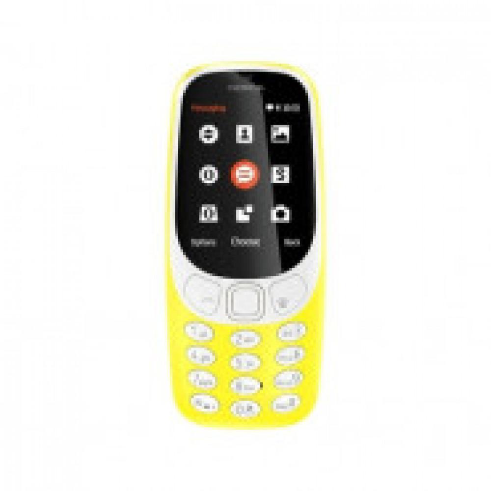 Мобильный телефон NOKIA 3310 DS TA-1030 YELLOW(A00028100)