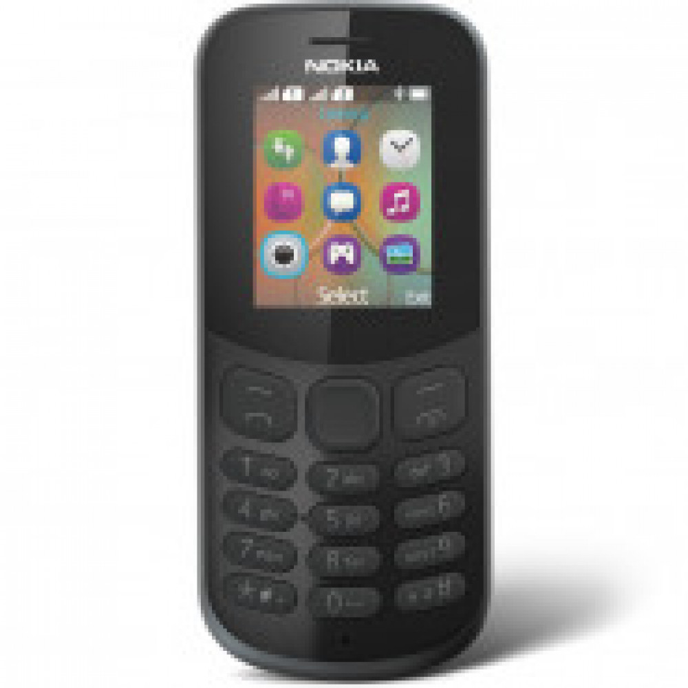 Мобильный телефон NOKIA 130 DS TA-1017 BLACK(A00028615)