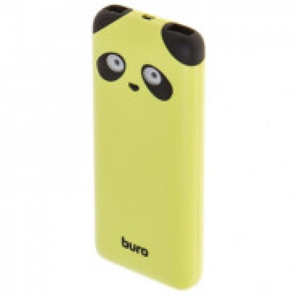 Внешний аккумулятор Buro RA-10000PD-GN Panda Li-Pol 10000mAh лайм