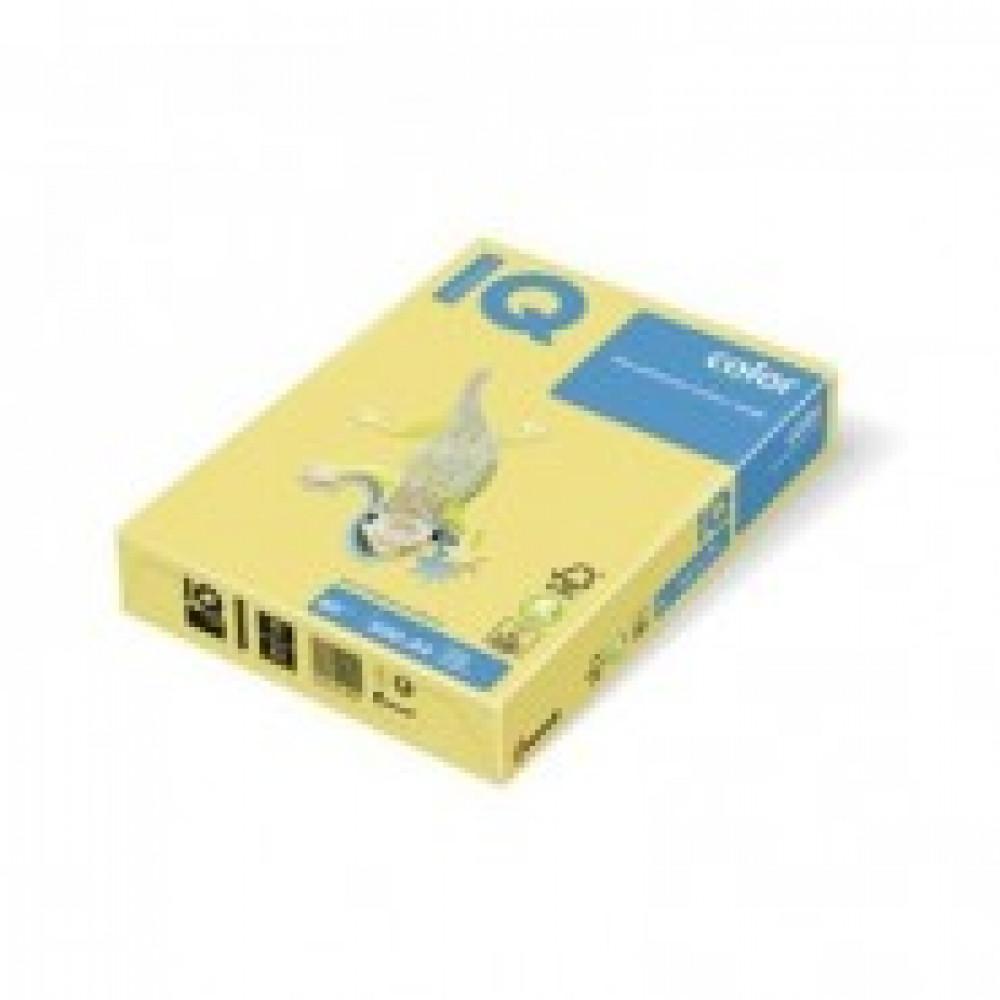 Бумага цветная IQ COLOR (А3,80г,ZG34-лимонно-желтый) пачка 500л.