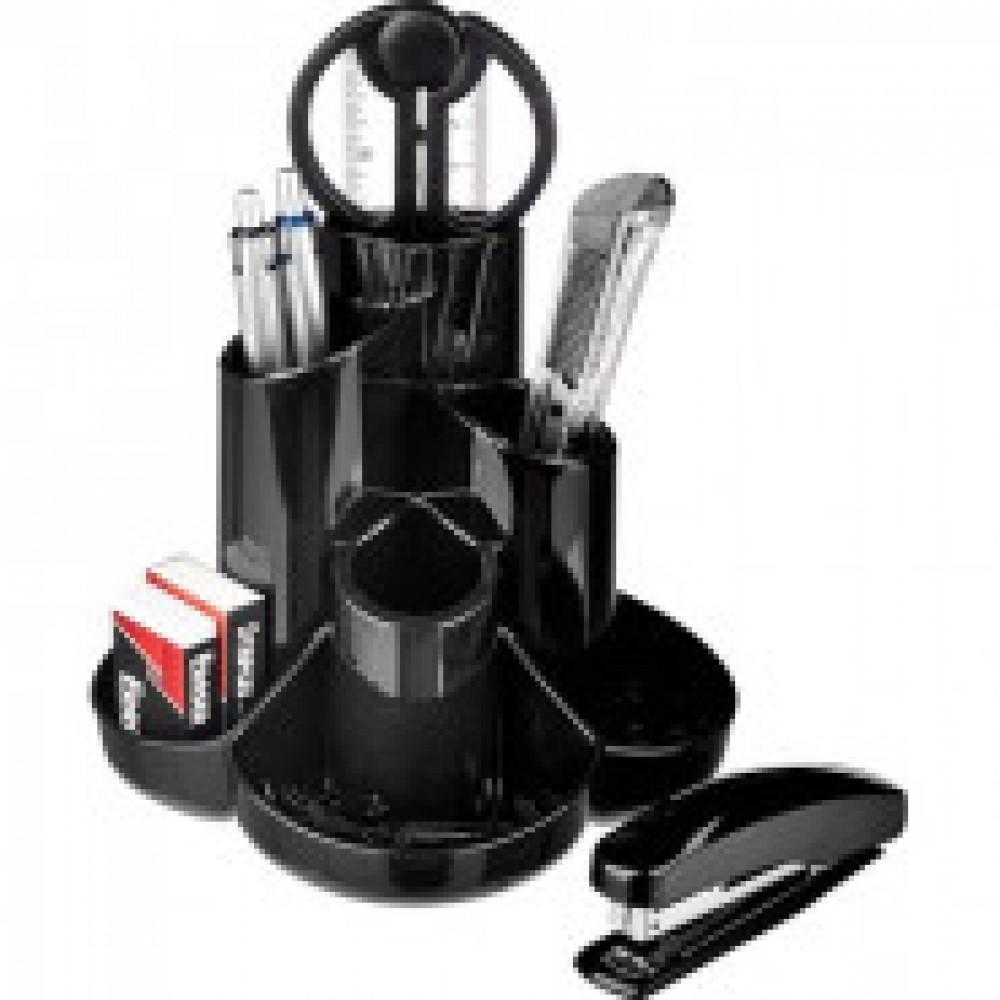 Набор настольный Attache Selection 10 предметов черный S-357