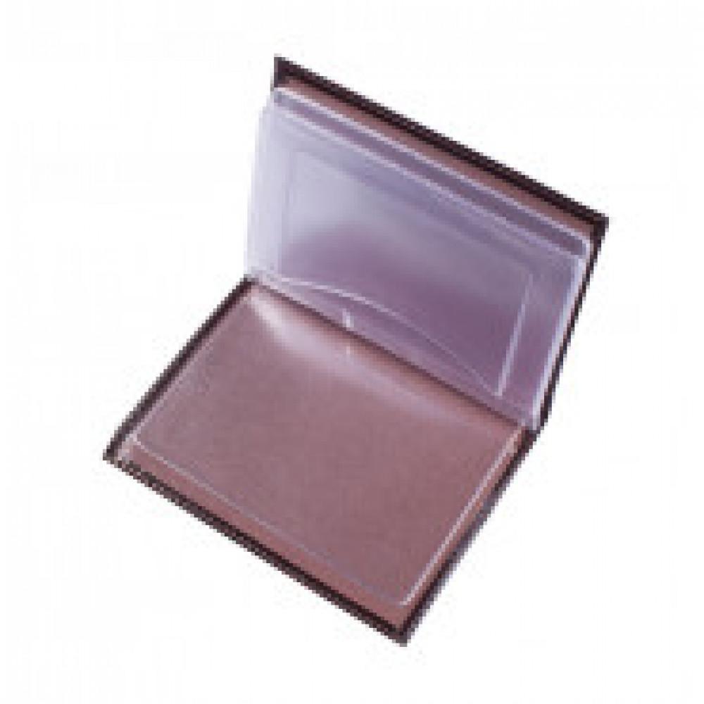 Бумажник водителя Classic BV1-1 из натуральной кожи коричневого цвета
